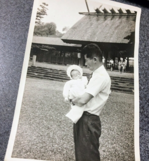 父と子 熱田神宮
