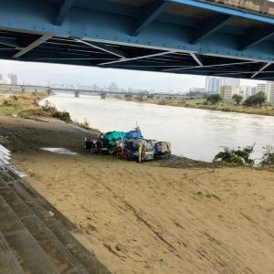 台風19号に伴う多摩川の氾濫Tamagawa20191014_02
